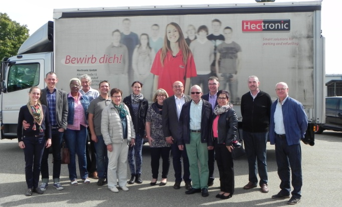 Unseres Besuchs bei Hectronic